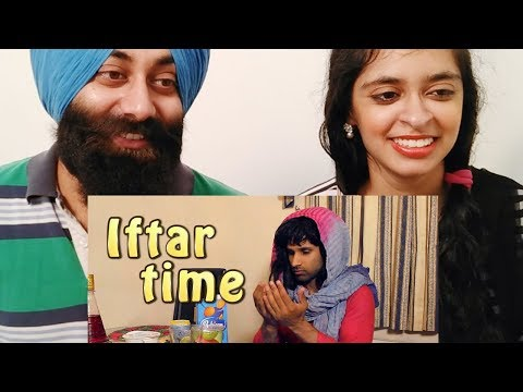 Sikh Couple Reacts On Iftar Time | Rahim Pardesi | PunjabiReel TV