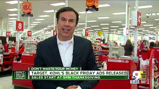 Target, Kohl's Black Friday 2018 ads are out