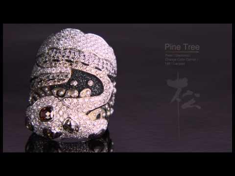 Japanese art in Jewelry -yamayoshi- 「ジュエリーの中の日本芸術」