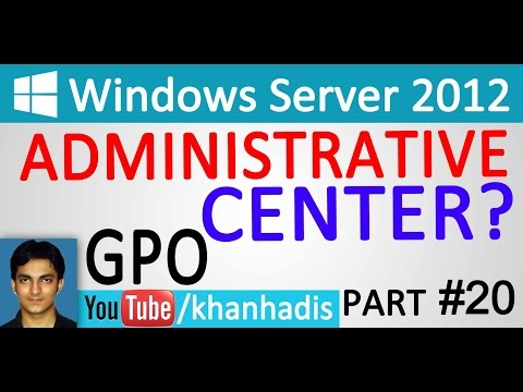 MCSA: Server 2012 Urdu-Hindi Administrative Center Part 20