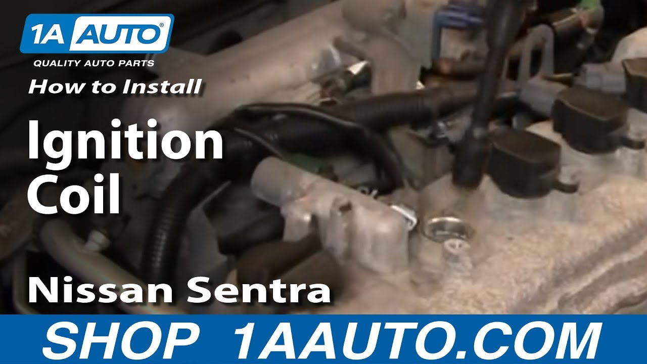 How To Install Replace Ignition Coil Nissan Sentra 25L 02