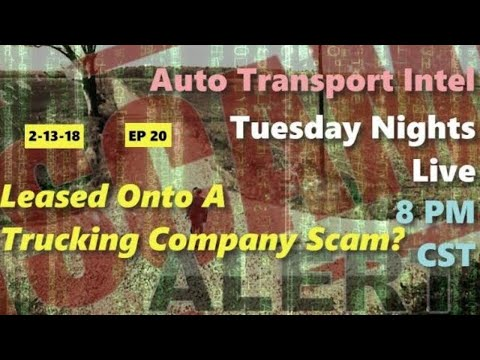 Leasing Onto A Trucking Company Scam? A Car Hauling Business Start Up