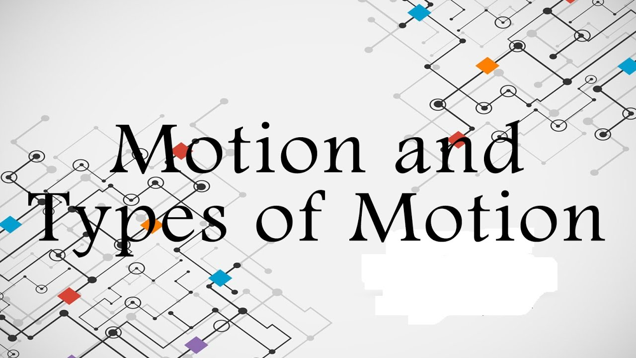Motion and Types Of Motion | Physics | Phyacademy | Phyacademy