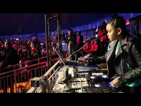 Dj Annie Red live at the UniverSoul Circus 25th Anniversary Kids Lives Matter
