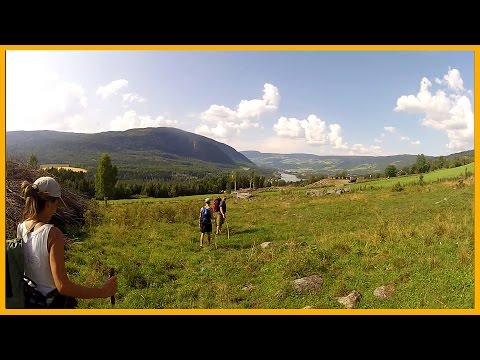 HIKING IN NORWAY: THE PILGRIM'S ROUTE FROM OSLO TO NIDAROS - WALKING 700 KM OF ANCIENT TRAILS