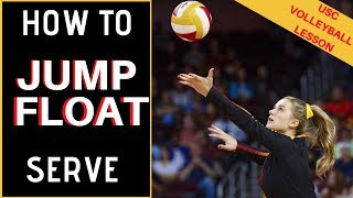 Volleyball Jump Serve - How To Jump Float Serve with Victoria Garrick