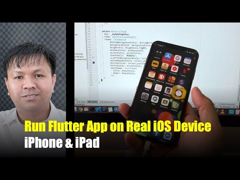 How To Run Flutter App On Real IOS Device (iPhone 11 Pro, X Max, X, 8 Plus, 8, 7+, 7 And IPad)