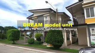 Aspire Residences | Dream Model Unit | Two-storey 4BR | Brgy. Dela Paz Norte San Fernando Pampanga