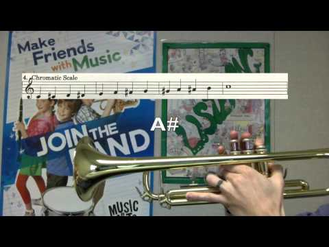 Chromatic Scale - Trumpet