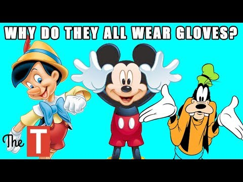 10 STRANGE Things You Never Noticed About Cartoons