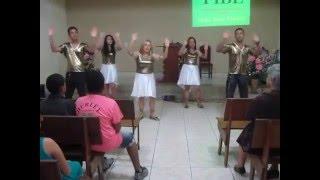 Coreografia Deus de provisão-Jamily PIB Lindeia BH-MG