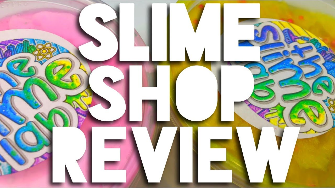 HONEST SLIME SHOP REVIEW//The Slime Lab