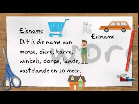 Selfstandige Naamwoorde from YouTube · Duration:  56 seconds