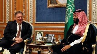 U.S. secretary of state meets Saudi prince to discuss missing journalist Jamal Khashoggi