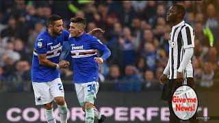 Sampdoria sorprende a la Juventus en Italia y la aleja del Napoli!