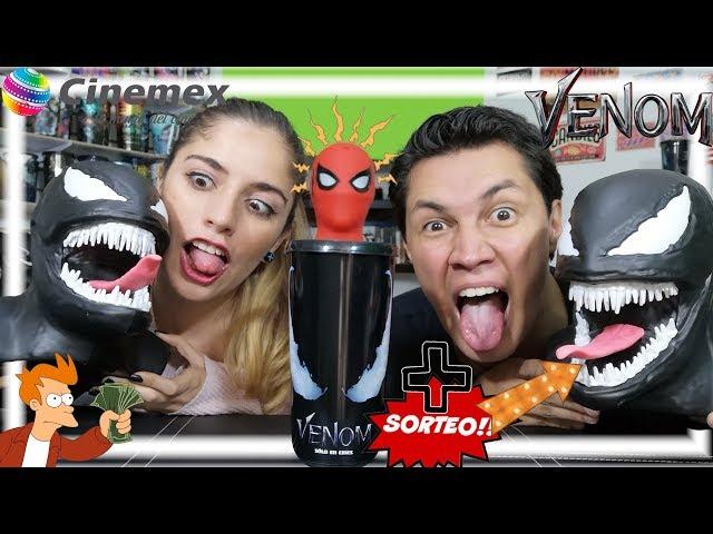 Venom I Promocionales Cinemex I Take my Money I BLOGEEKEANDO
