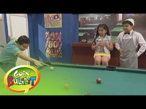 """Goin' Bulilit: Throwback 80's: The """"Goin' Bulilit"""" kids deliver '80s-themed jokes set in a billiard hall.  Subscribe to the ABS-CBN Entertainment channel! - http://bit.ly/ABSCBNOnline  Watch the full episodes of Goin' Bulilit on TFC.TV   http://bit.ly/GoinBulilit-TFCTV and on IWANT.TV for Philippine viewers, click:  http://bit.ly/GoinBulilit-IWANTv  Visit our official website!  http://entertainment.abs-cbn.com http://www.push.com.ph  Facebook: http://www.facebook.com/ABSCBNnetwork  Twitter:  https://twitter.com/ABSCBN https://twitter.com/abscbndotcom Instagram: http://instagram.com/abscbnonline"""