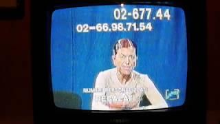 Stefania Nobile si sfoga in diretta. 13 Ottobre 1999