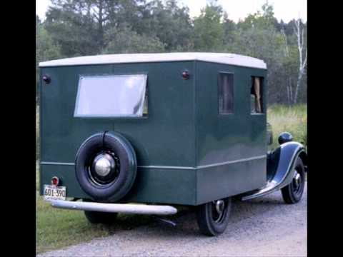 1937 Ford Housecar Youtube