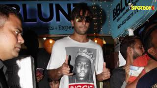 Gully Boy Ranveer Singh Takes Off To New York To Rap It Up | SpotboyE