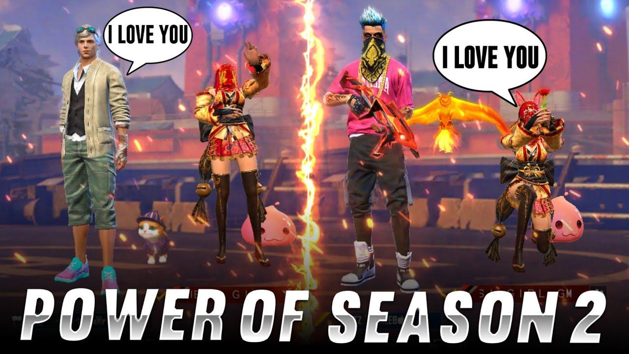 Download Power Of Season 2 ! Random Players Op Reactions ! Garena free fire