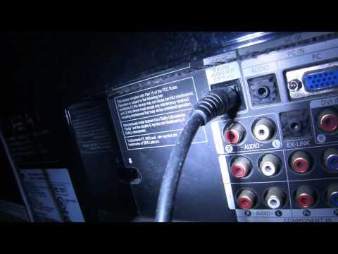 Quick fix TV surround sound system