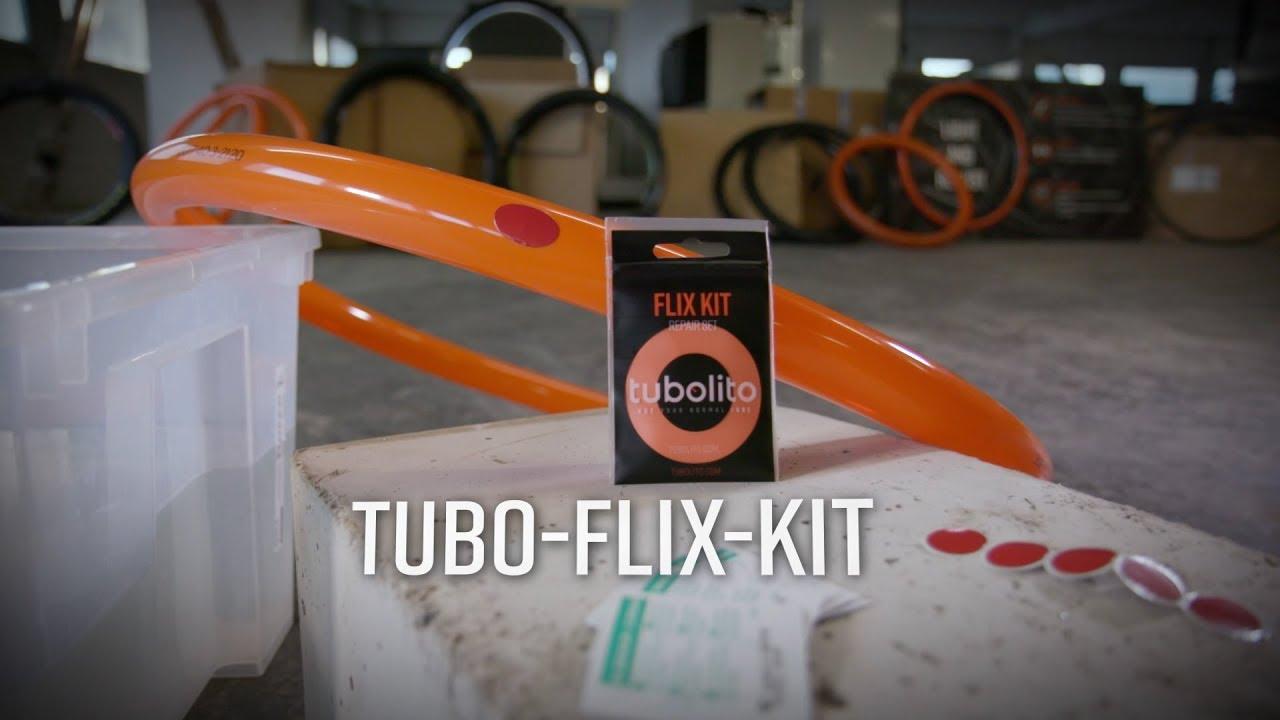 Tubolito Flix Kit Tubo Inner Tube Repair Set 5x Cleaning Tissues // Patches EA