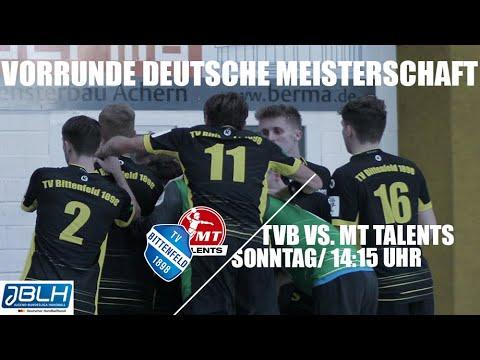 Download TV Bittenfeld vs. MT Talents - Vorrunde der Deutschen Meisterschaft der JBLH