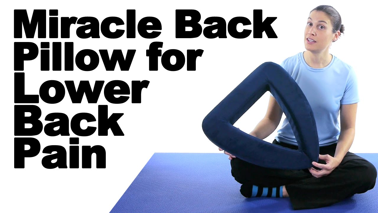 lower back core exercises with the miracle back pillow ask doctor jo
