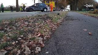Twee gewonden bij ongeval in Enschede