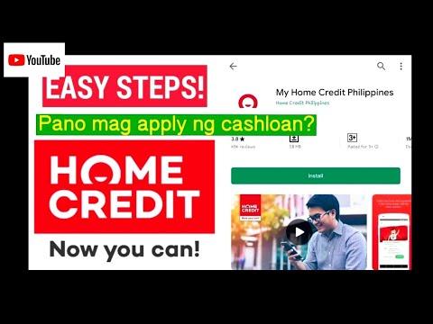 Pano Mag Loan Sa Homecredit? Homecredit Cashloan Application
