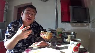 Обед бутерброд колбаса варёная яйца варёные майонез