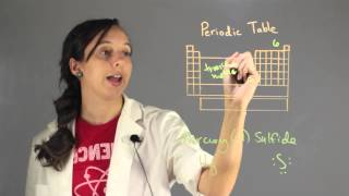 How to Write the Chemical Formula for Mercury (II) Sulfide : Chemistry Lessons