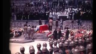 Generał Władysław Anders Funeral - Monte Cassino, 23rd May 1970