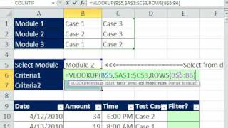 Excel Magic Trick 573: VLOOKUP & OR functions For Filtering Data With Categories of Criteria