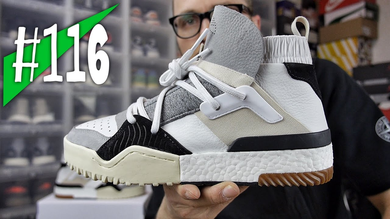 116 - Adidas Alexander Wang BBALL - Review on feet - sneakerkult ... acbea1772