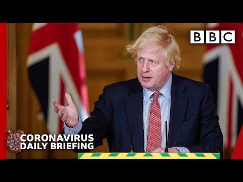 Boris Johnson 'regrets confusion' over aide lockdown row – Covid-19 Government Briefing 🔴 BBC