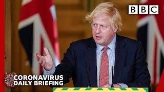 Boris Johnson 'regrets confusion' over aide lockdown row - Covid-19 Government Briefing 🔴 BBC