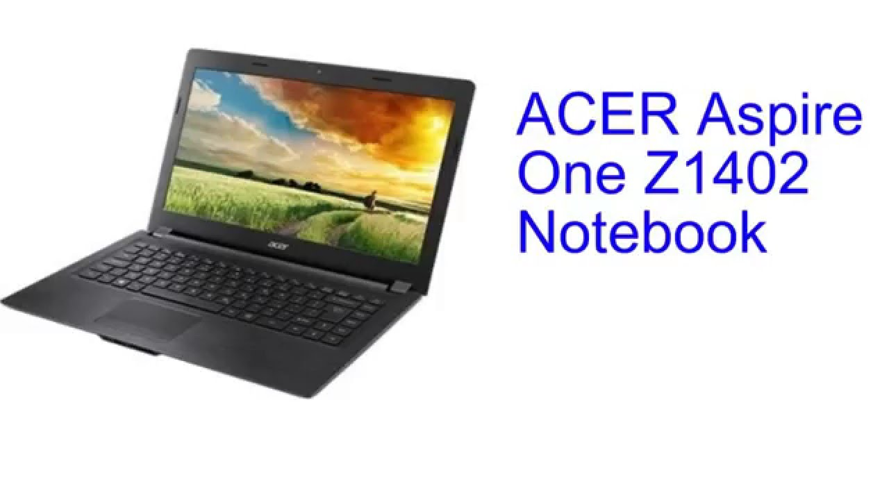 ACER Aspire One Z1402 Notebook Specification INDIA