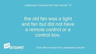 I Am Installing A Fanimation Slinger V2 Ceiling Fan Light