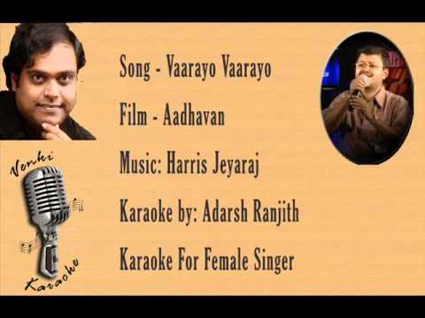 Vaarayo Vaarayo - Karaoke For Female Singer