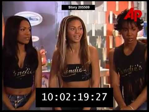 Destiny's Child Interview 2000