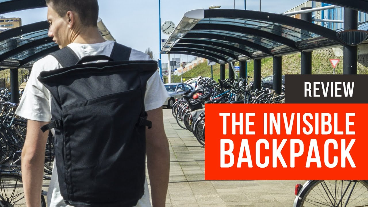 Invisible Backpack Review - Best backpack in the World?! - YouTube
