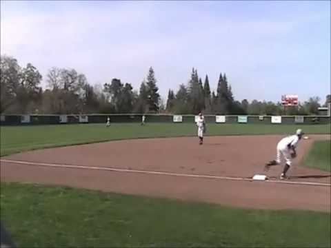 Keith Judd Pre-Game Throws To 3rd Base