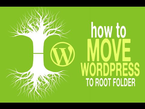 How to Move WordPress from Directory to Root | Remove /Wordpress from WordPress URL
