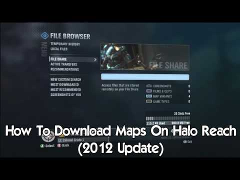 How To Download Maps On Halo Reach (HaloWaypoint is now fixed!!)