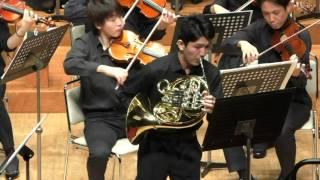 R. グリエール《ホルン協奏曲 Op. 91》 溝根伸吾(仙台フィルハーモニー管弦楽団)