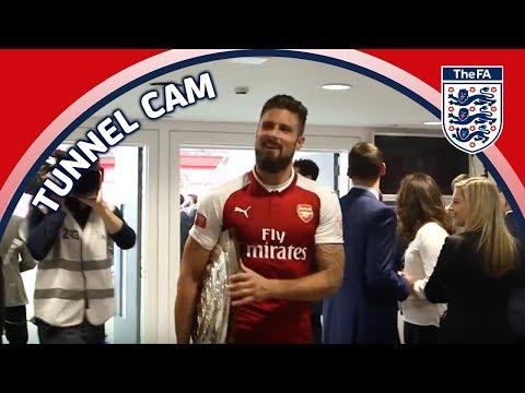 Tunnel Cam - Arsenal vs Chelsea - FA Community Shield   Inside Access