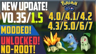 Pokemon Go 0.35.0 APK Download | Works on all unsupported devices - (Jelly Bean) 4.0/4.1/4.2/4. 3+