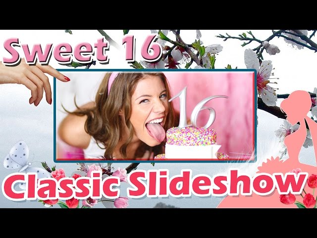 Elegant Sweet 16 Template
